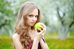 Portrait of a beautiful girl Royalty Free Stock Photo