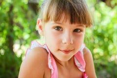Portrait of beautiful girl. Stock Photos