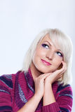 Portrait of a beautiful girl Stock Photography