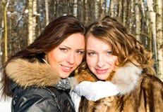 Portrait of beautiful girls Stock Photo