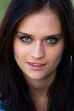 Portrait of beautiful girls Stock Photos