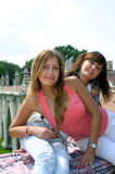 Portrait of the beautiful girls Royalty Free Stock Photos