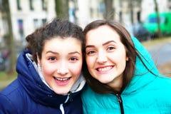 Portrait of beautiful girls Stock Photography