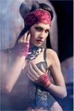 Portrait of a beautiful glamorous girl Stock Photography