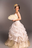 Portrait of a beautiful happy bride Royalty Free Stock Photography