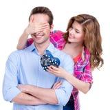 Portrait of beautiful happy couple. Royalty Free Stock Photo