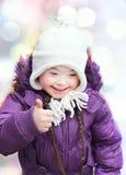 Portrait of beautiful happy girl Royalty Free Stock Image