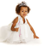 Portrait of beautiful happy little girl Royalty Free Stock Image