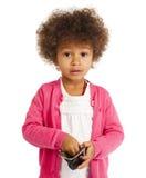 Portrait of beautiful happy little girl Royalty Free Stock Photo