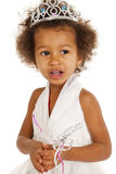 Portrait of beautiful happy little girl Royalty Free Stock Images