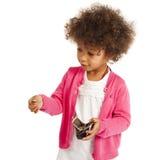 Portrait of beautiful happy little girl Stock Image