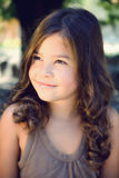 Portrait of a beautiful happy young girl Royalty Free Stock Photos