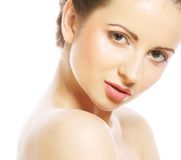 Portrait of beautiful healthy young woman Stock Photo