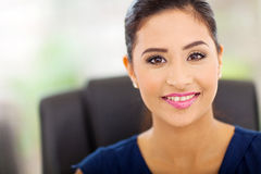 Indian businesswoman closeup Stock Photo