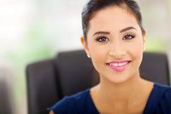 Indian businesswoman closeup Stock Photo