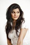 Portrait of beautiful indian girl Stock Image