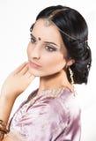 Portrait beautiful indian girl Royalty Free Stock Image
