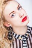Portrait of beautiful lady Stock Photo