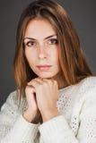 portrait of beautiful lady Stock Image