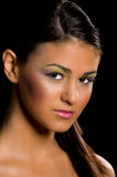Portrait of beautiful latin woman. Royalty Free Stock Images