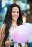 Portrait of beautiful latin woman smiling Stock Image