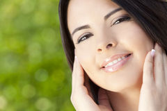 Portrait of Beautiful Latina Hispanic Woman Royalty Free Stock Photo