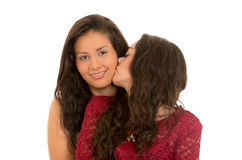 Portrait of beautiful lesbian couple in love Royalty Free Stock Photography