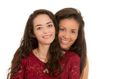 Portrait of beautiful lesbian couple in love Stock Photography