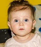 Portrait of a beautiful little baby girl. Portrait of a beautiful little baby Stock Photography