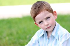 Portrait of beautiful little boy Royalty Free Stock Photo