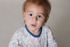 Portrait of a beautiful little boy Royalty Free Stock Images