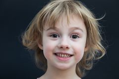Portrait of a beautiful little girl Royalty Free Stock Images