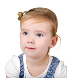 Portrait of beautiful little girl Stock Image