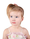 Portrait of beautiful little girl Royalty Free Stock Photo