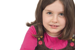 Portrait of beautiful little girl Stock Photography