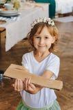 Portrait. Of beautiful little girl Royalty Free Stock Photo