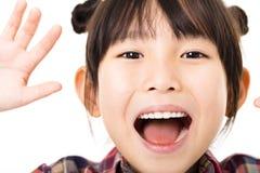 Portrait of  beautiful little girl Royalty Free Stock Photo