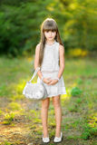 Portrait of a beautiful little girl Stock Photo