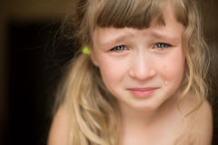 Portrait of beautiful little girl Royalty Free Stock Photography