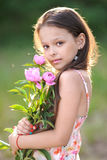 Portrait of a beautiful little girl Royalty Free Stock Photography