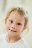 Portrait of beautiful little girl Royalty Free Stock Images