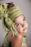 Portrait of a beautiful little girl Stock Photos