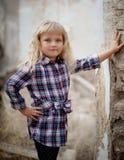 Portrait of a beautiful little stock photos