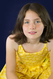 Portrait of beautiful little girl smiling Royalty Free Stock Photography