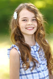 Portrait of a beautiful little girl Stock Photography