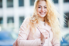 Portrait of beautiful long-haired girl Royalty Free Stock Photo