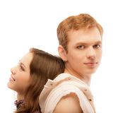 Portrait of beautiful loving couple Royalty Free Stock Images