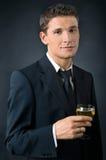 Portrait of a beautiful man Royalty Free Stock Photo