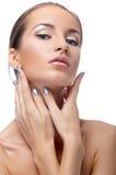 Portrait of beautiful model Royalty Free Stock Image