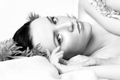 Portrait of a beautiful model Stock Photo